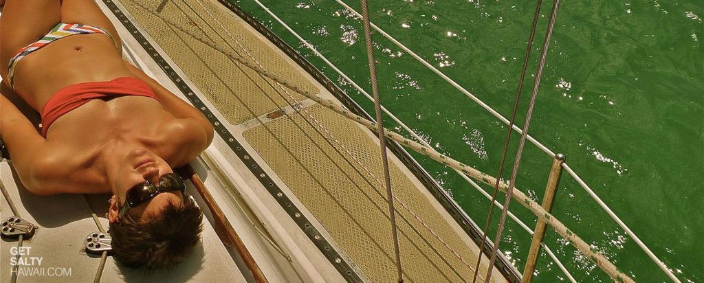 Salty Snapshot: Sun Deck