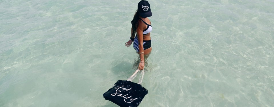 Get Salty Beach Bag