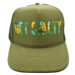 Pineapple Trucker Hat - Wholesale - Olive