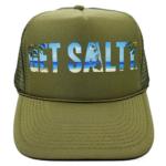 Beach Trucker Hat - Wholesale - Olive