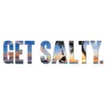 """Patterned Get Salty 8"""" Decal - Wholesale - Mokuluas"""