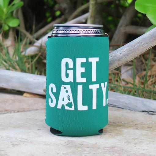 3d8b6569b98 Mermaid Green Get Salty Koozie