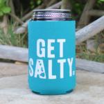 Teal Get Salty Koozie (Wholesale)